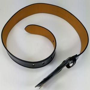 Fendi Accessories - FENDI NEW BLACK PATENT LEATHER B-BUCKLE BELT